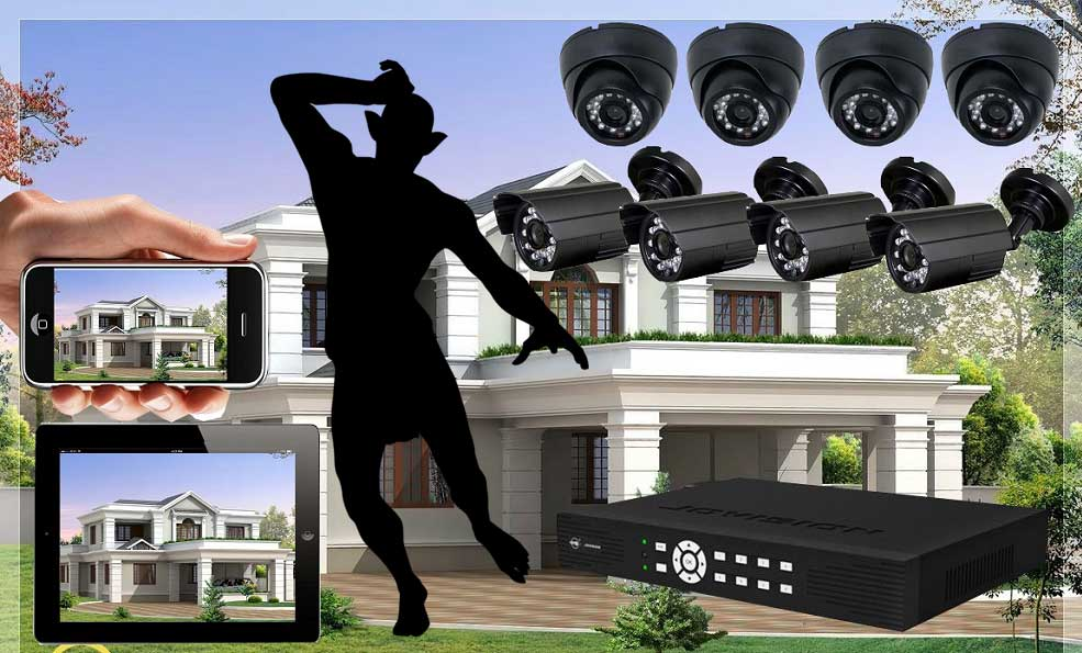 Thief fears CCTV more than security alarm